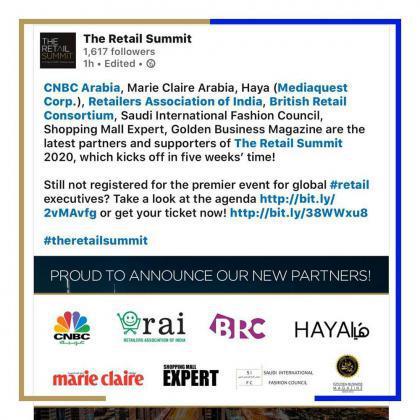 «تجارت طلایی» نماینده ایران در رویداد جهانی  THE RETAIL SUMMIT